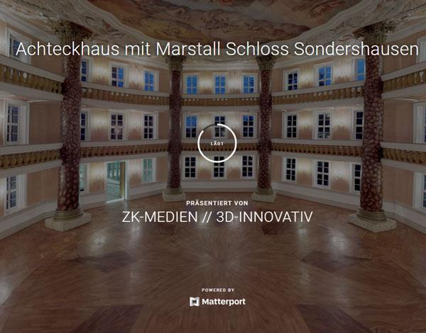 3D-Rundgang Achteckhaus