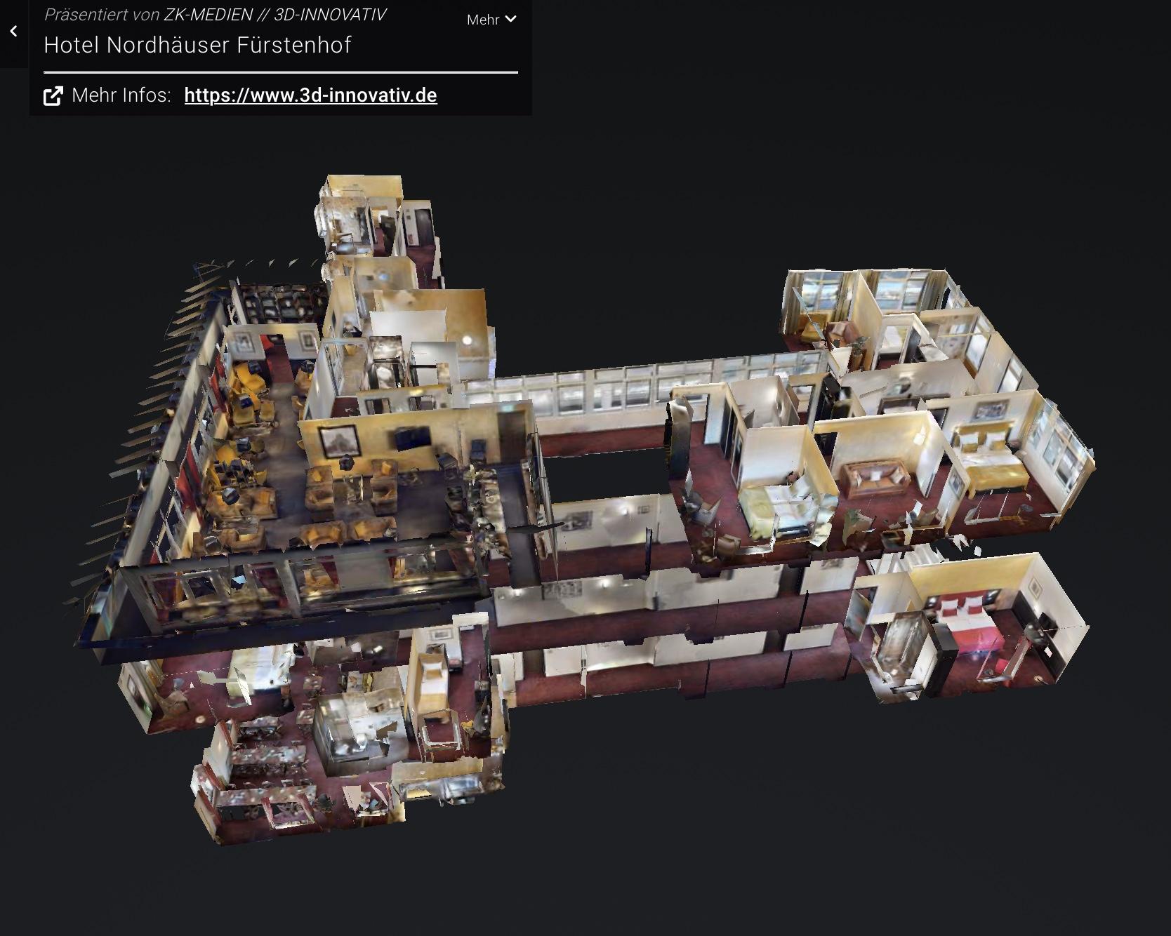 3D-Rundgang Nordhäuser Fürstenhof